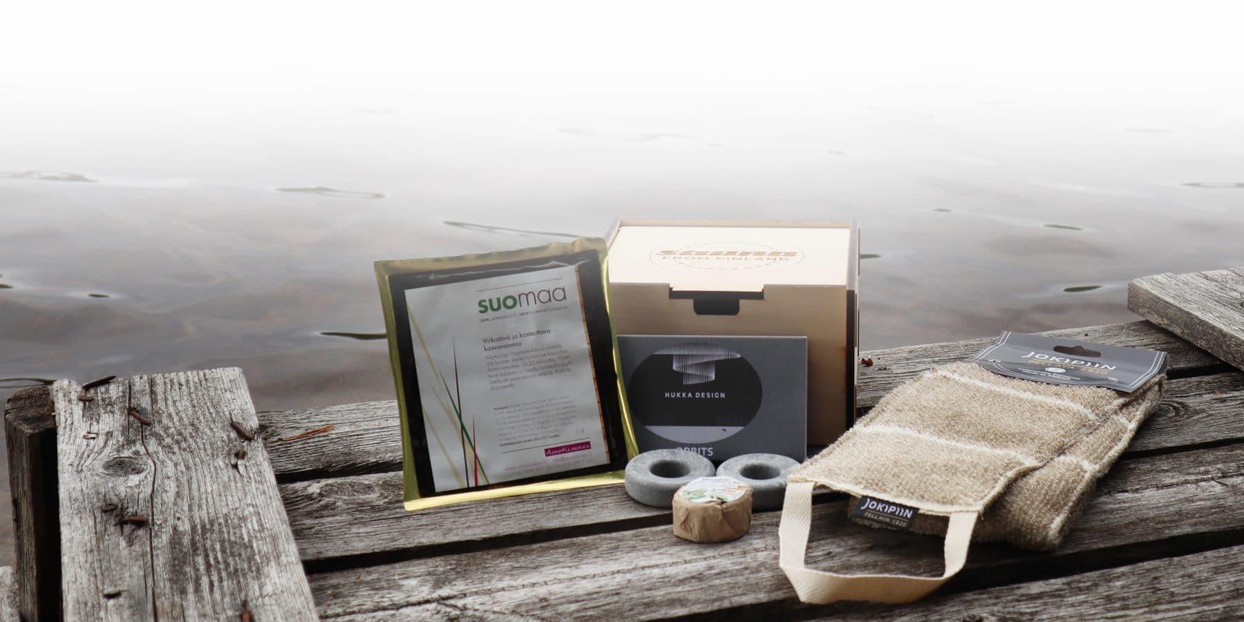 beauty sauna gift box
