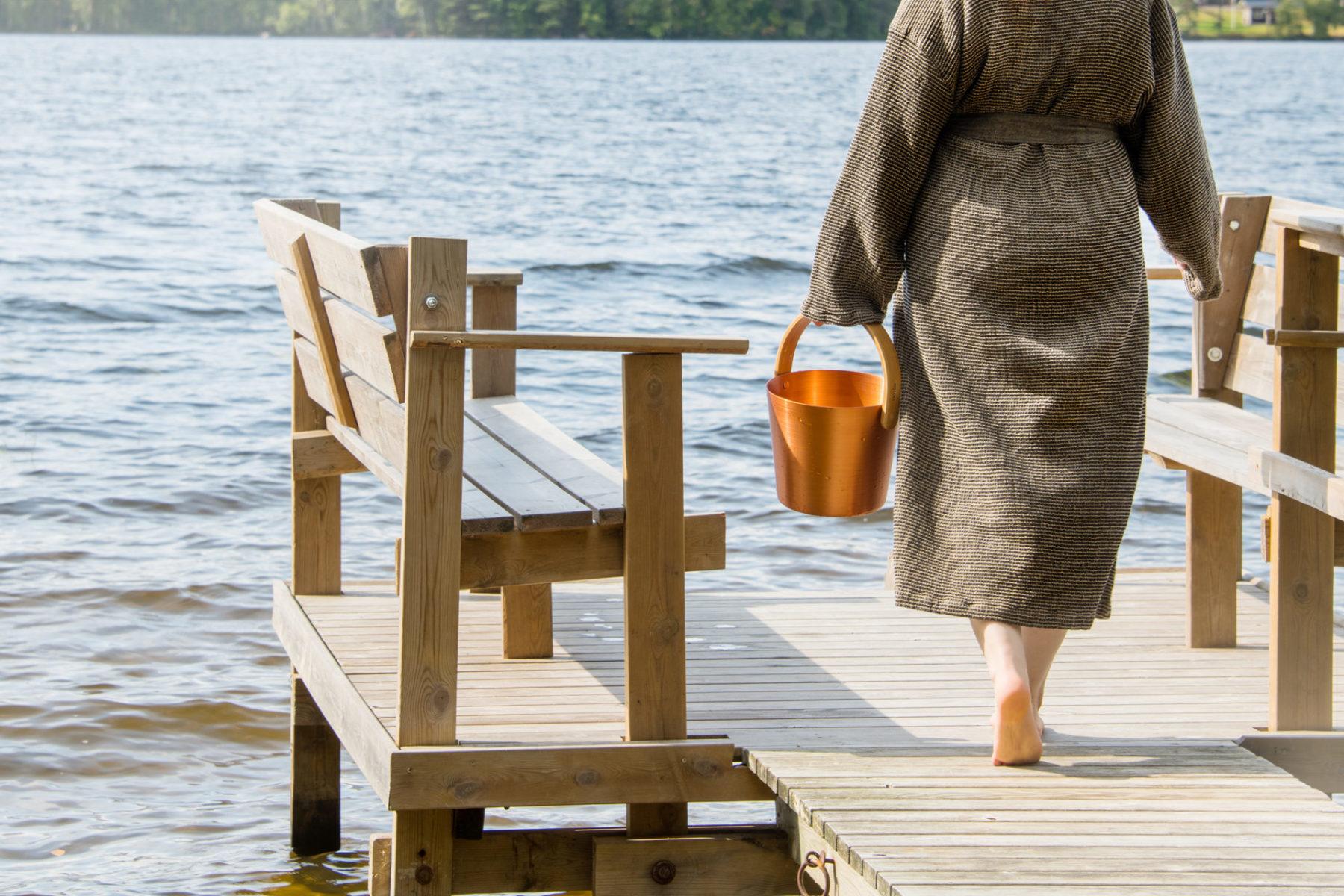 sauna water pail