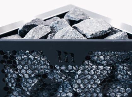 Aura black stove
