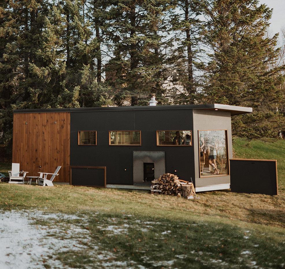 Cedar & Stone Sauna