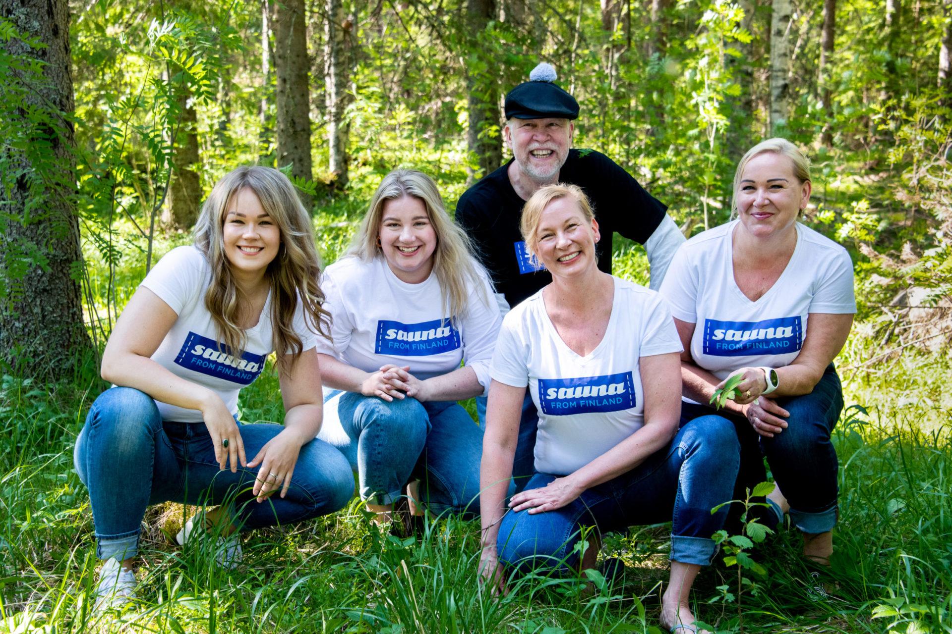 Sauna from Finland team