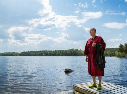 sauna bath robe