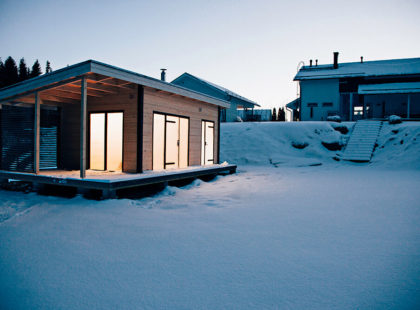 harvia solide outdoor sauna