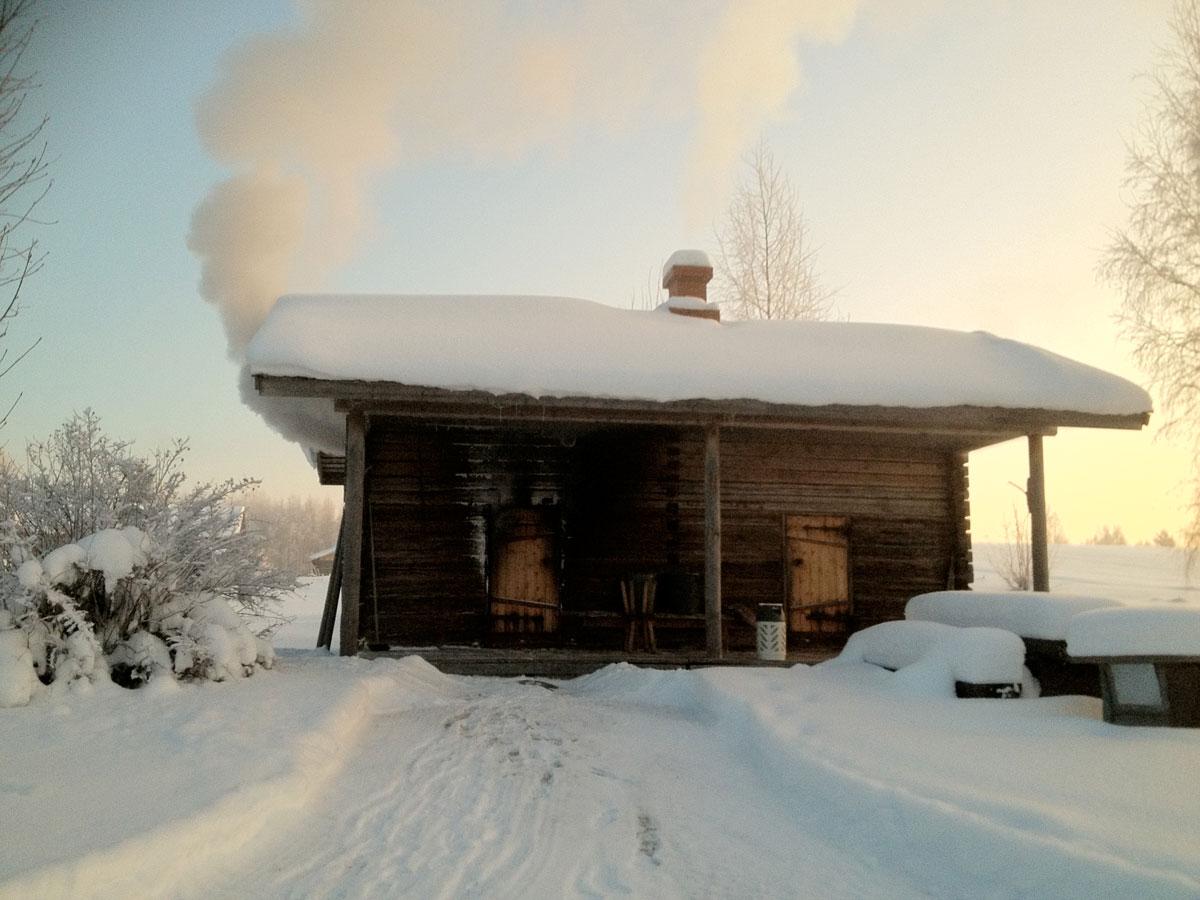 kumpunen smoke sauna