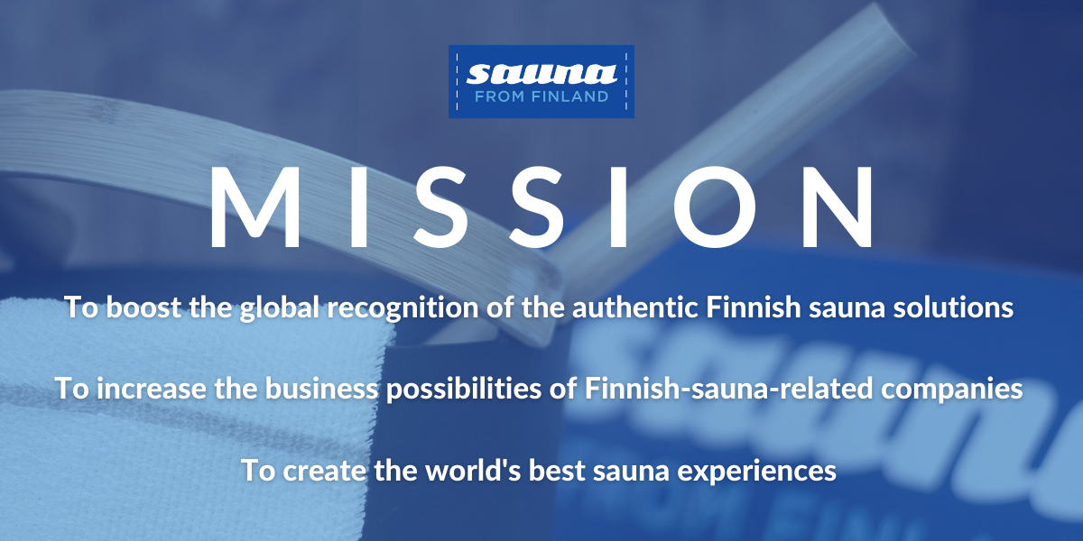 Sauna from Finland mission