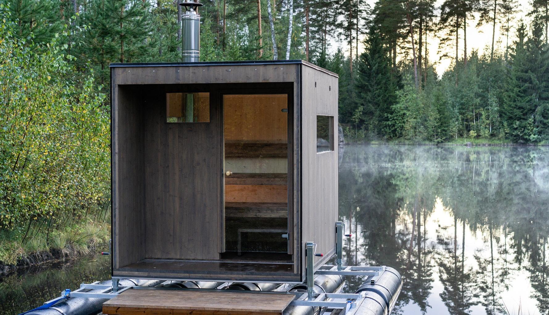 Ripavi Pond Sauna