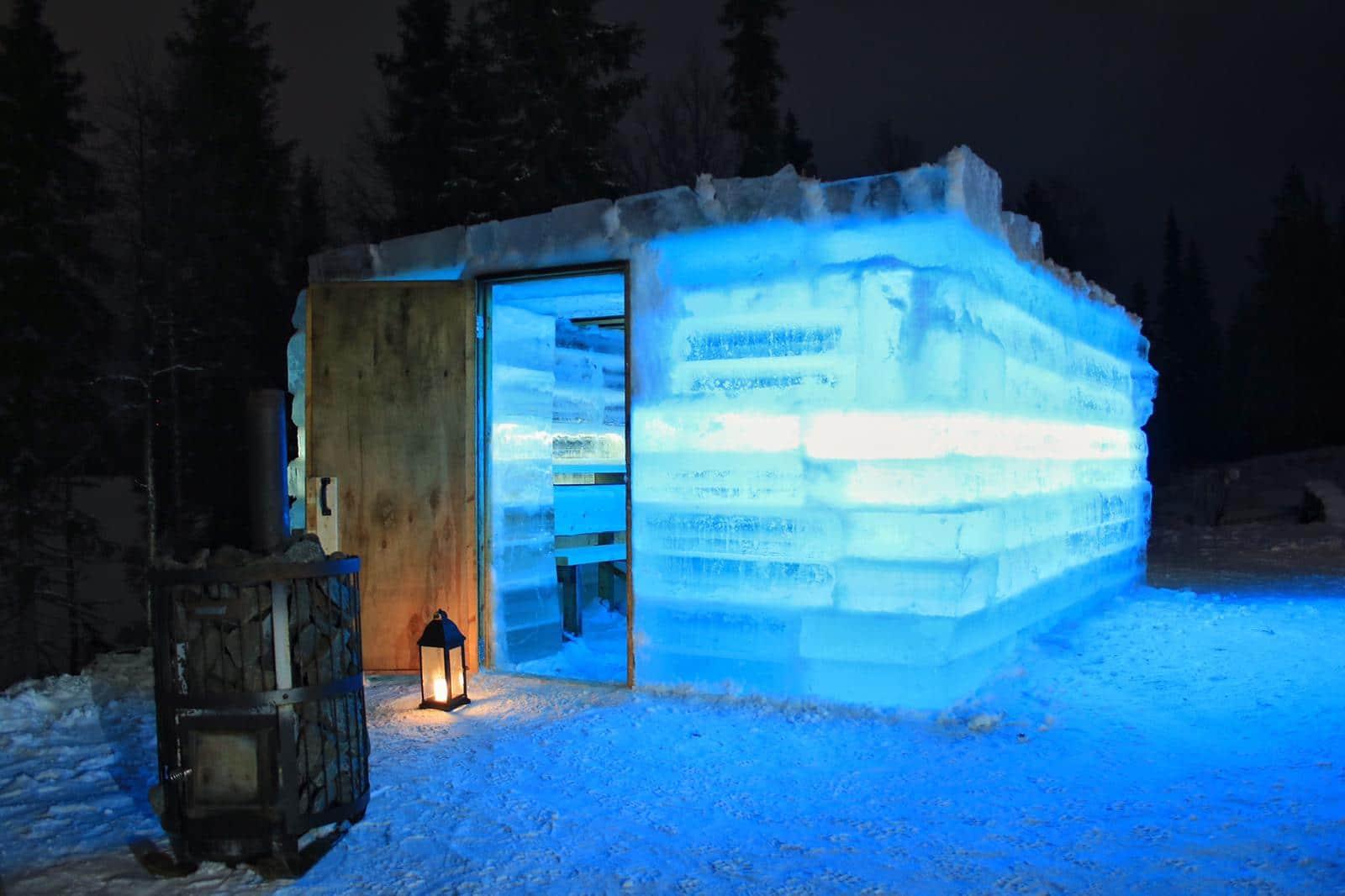 Ice Sauna Rukan Salonki
