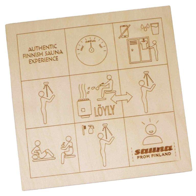 sauna instructions